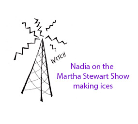 Nadia on the Martha Stewart Show