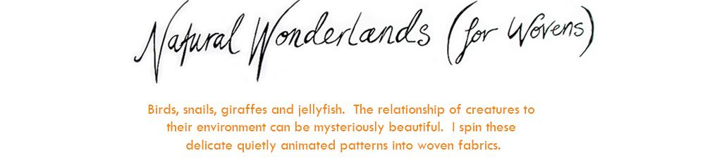 Natural Wonderlands (for Wovens)